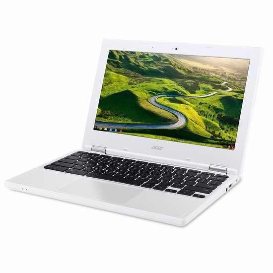 历史新低!Acer 宏碁 CB3-131-C5RA 11.6寸 Chromebook 笔记本电脑 199.99加元包邮!