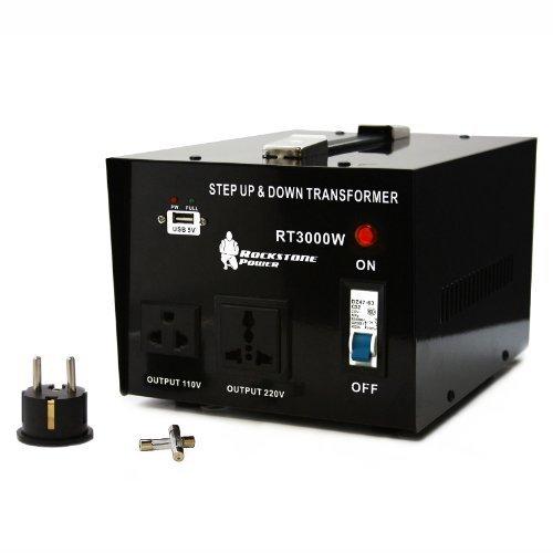 Rockstone Power 3000瓦(110-220v)双向变压器 100.4加元限量特卖并包邮!