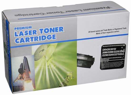 白菜价!Brother 激光打印机 DR420 兼容墨粉盒 12加元清仓并包邮!