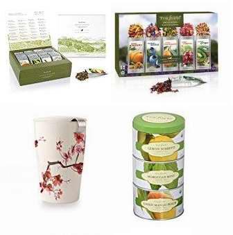 金盒头条:精选25款 Tea Forte 精品茶叶礼盒装、罐装、茶杯等特价销售!