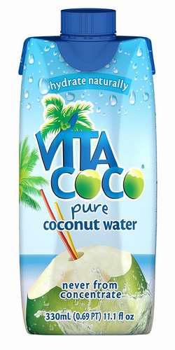 历史新低!Vita Coco 纯天然椰汁(330ml x 12)5.2折 17.01-17.91加元!