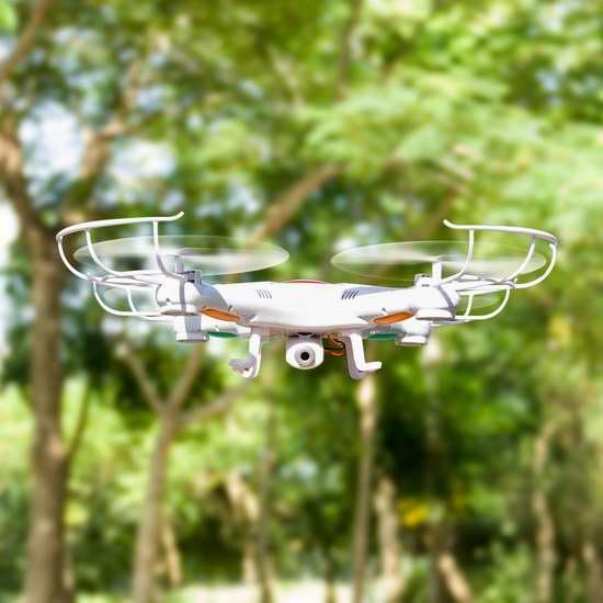 Ohuhu 探索者 2.4G 6轴4旋翼 高清实时航拍无人机3.5折 34.99加元清仓!