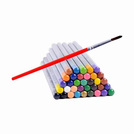 历史新低!Ohuhu 36色水溶性彩色铅笔3折 9.99加元清仓!