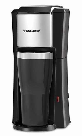 BLACK+DECKER CM618C 单杯咖啡机 18.96加元!