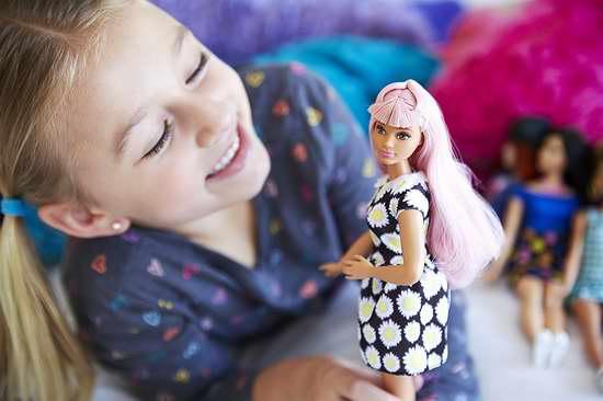 历史新低!Barbie Fashionistas 芭比娃娃玩偶4.2折 5加元!