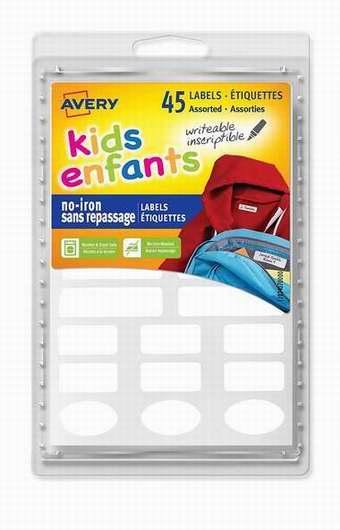 金盒头条:Avery 40700 免熨烫儿童衣物 永久姓名标签贴 6.79加元!