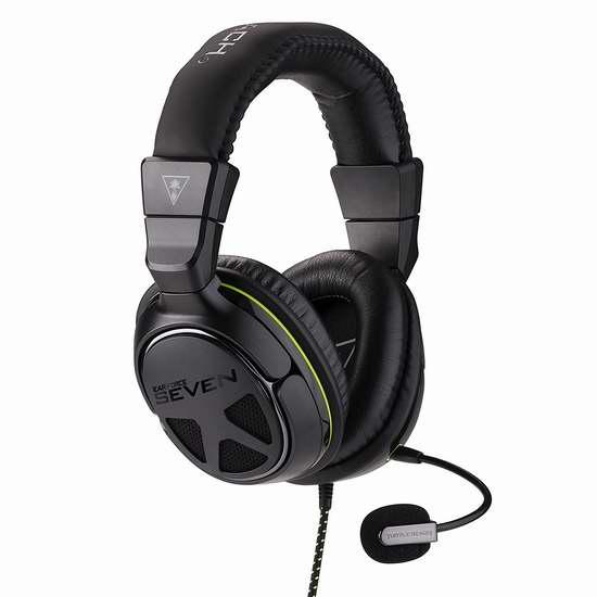 白菜价!历史新低!Turtle Beach 乌龟海岸 XO SEVEN Pro 电竞游戏耳机2.7折 55.81加元清仓并包邮!