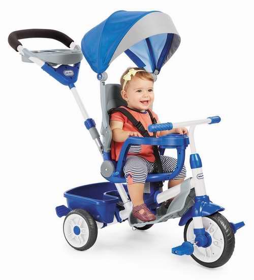 Little Tikes 小泰克 Perfect Fit 四合一 蓝色儿童三轮车 76.3加元包邮!