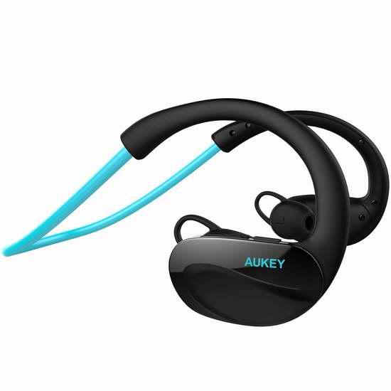 历史最低价!AUKEY 入耳式蓝牙运动耳机4.3折 12.99加元!