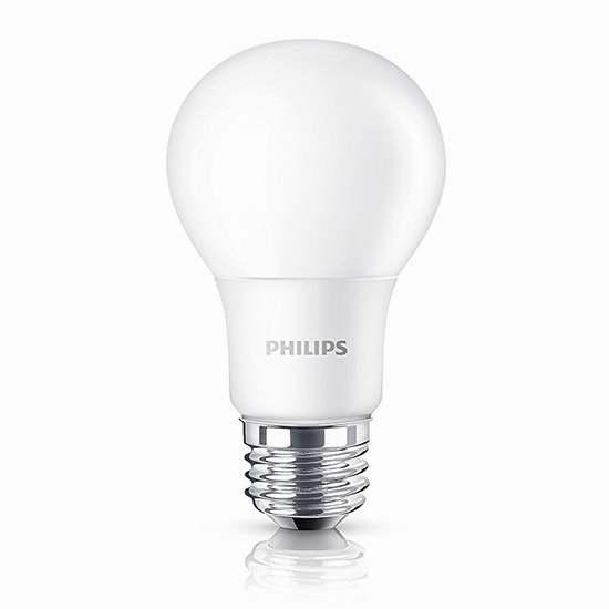 Philips 飞利浦 461979 100瓦等效 LED节能灯2件套6折 11.97加元!