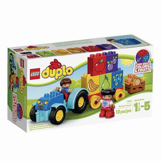 历史新低!Lego 乐高 10615 得宝创意系列 我的第一辆拖拉机6折 11.97加元!