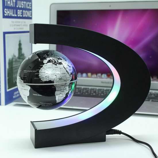 MECO 炫酷磁悬浮地球仪 30.99加元限量特卖并包邮!3色可选!