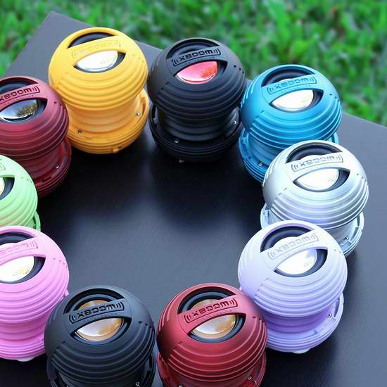 白菜价!Xboom 迷你超可爱 陶瓷便携式可充电 增强低音音箱2.5折 5.75加元清仓!3色可选!