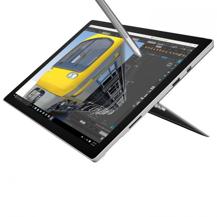 高分评价!Microsoft Surface Pro 4 12.3英寸平板电脑 849.95加元(1148.95加元)!