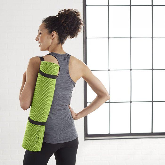 AmazonBasics 1/4英寸绿色瑜伽垫 13.27加元特卖!