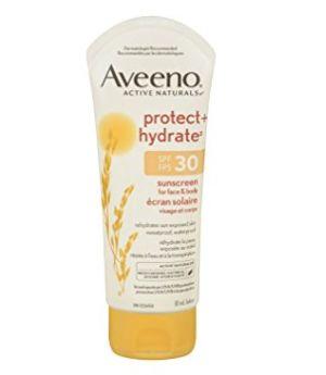 Aveeno Prot + Hydr防晒乳液 9.49加元(SPF30),原价 14.27加元