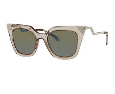 秒变时尚精!FENDI Crystal 猫眼眼镜 357加元,原价 510加元,包邮