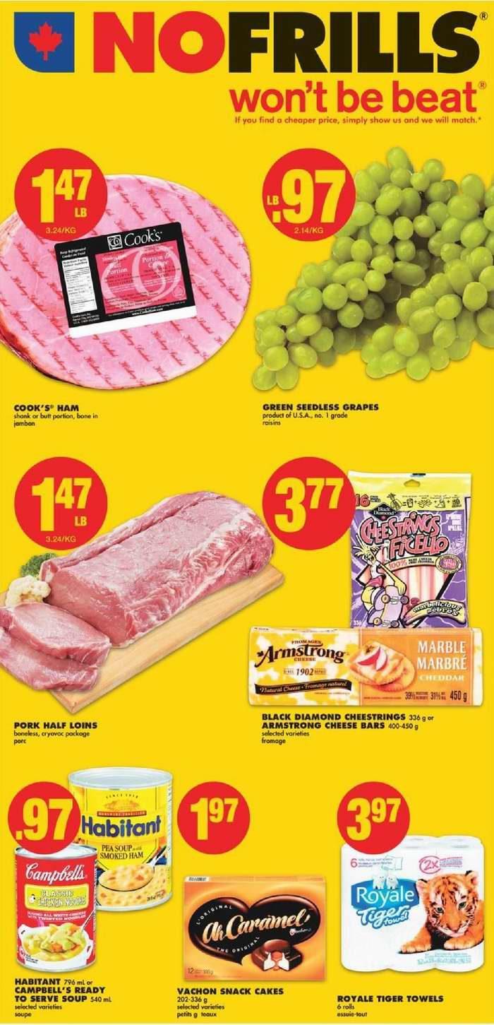 No Frills超市本周(2017.9.21-2017.9.27)打折海报