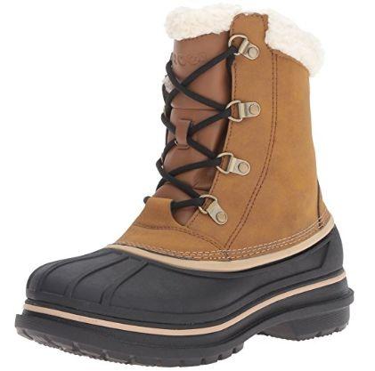 Crocs AllCast II 男士时尚雪地靴5.9折 70.49加元包邮!码齐!