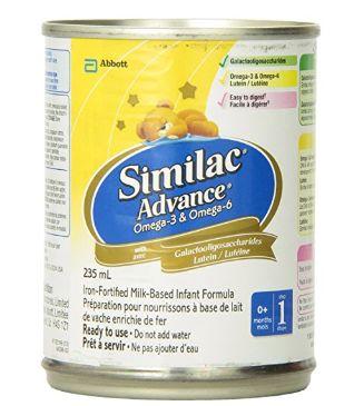 Similac Omega-3 婴儿配方奶粉 28.48加元,原价 32.98加元