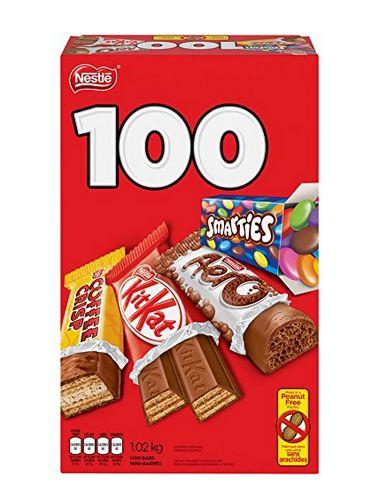 吃货必备!NESTLÉ MINIS 分享袋装巧克力100个 16.98加元特卖!