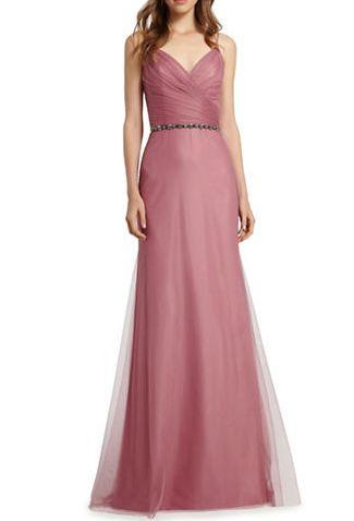 最受好莱坞明星喜爱婚纱晚装品牌之一!精选 16款MONIQUE LHUILLIER 伴娘,晚装礼服 131.19加元起特卖!