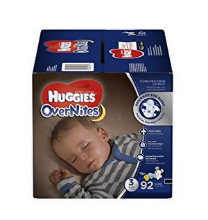 Huggies 好奇  Overnite 夜用纸尿裤 19.97加元(3-6号),原价 29.97加元,会员价15.98加元