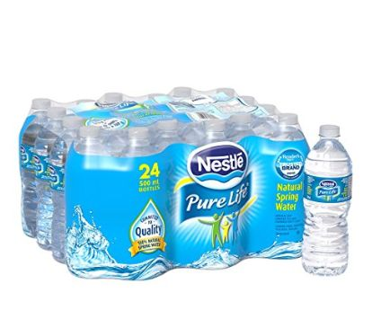 Nestle Pure Life 100%天然矿泉水 2.97加元(24瓶x500ml)!
