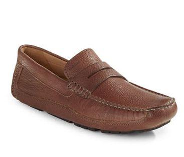 GEOX Respira Moccasins男士真皮休闲鞋 125加元(7码),原价 250加元,包邮