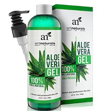 ArtNaturals 100%纯天然有机芦荟胶 14.4加元限量特卖,原价 16.95加元