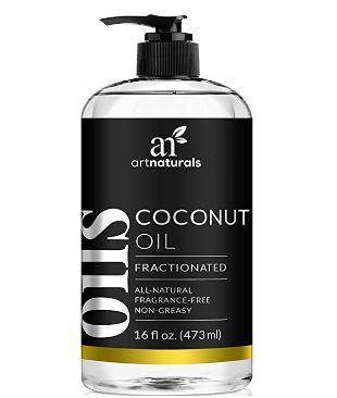 Art Naturals 100%天然纯分馏椰子按摩油 13.95加元(473ml)!