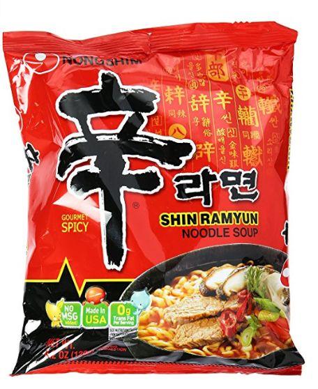 Nongshim 韩国农心辛辣方便面 1.49加元特卖!