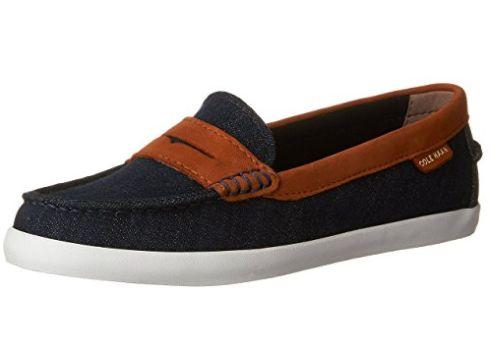 Cole Haan Pinch女款乐福鞋 65.73加元起特卖+包邮!多色可选!