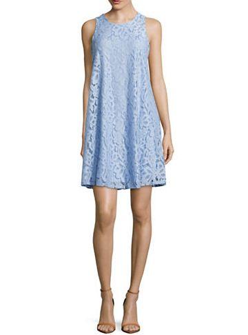 TOMMY HILFIGER 蕾丝斜纹连衣裙 29.99-33.99加元(4色),原价 99.99加元