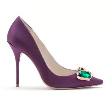 这辈子必须来一双!SOPHIA WEBSTER Lola宝石高跟鞋 218加元(8.5码),原价 545加元,包邮