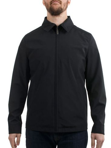 LONDON FOG Bonded 黑色夹克 43.5加元,原价 145加元