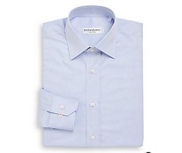精选 4款 YSL男士衬衫 83.2加元,原价 385加元