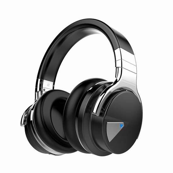 COWIN E7 Hi-Fi重低音 蓝牙无线耳机2.5折 49.99加元限量特卖并包邮!