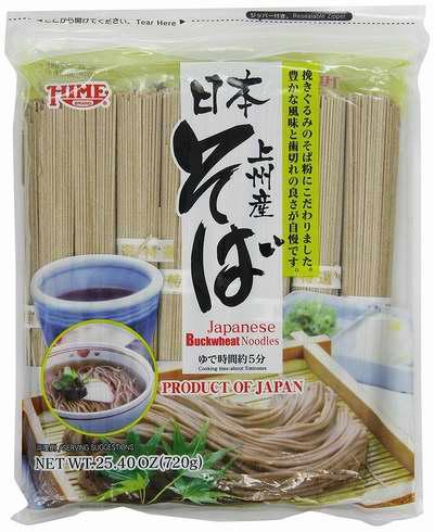 历史最低价!Hime 上州产 日本荞麦面(720克) 5.59加元!