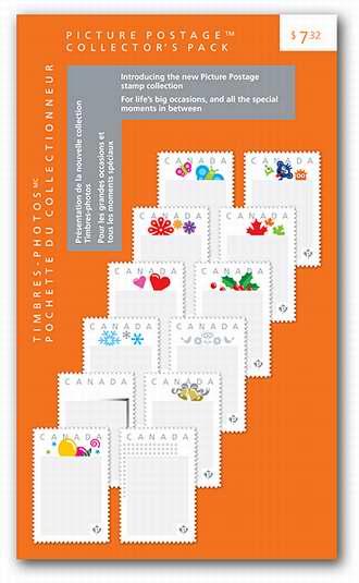 个性化照片邮票(P票)12件套 7.32加元!单价仅0.61加元!相当于邮资7.2折!
