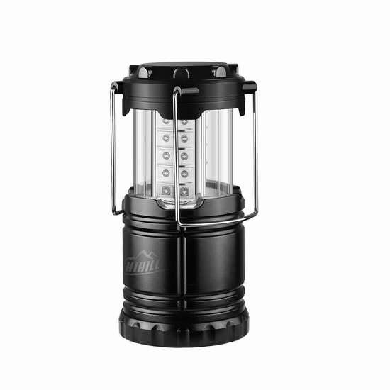 历史新低!HiHiLL 按压式LED露营灯/走廊灯/家用应急灯3折 5.99加元清仓!