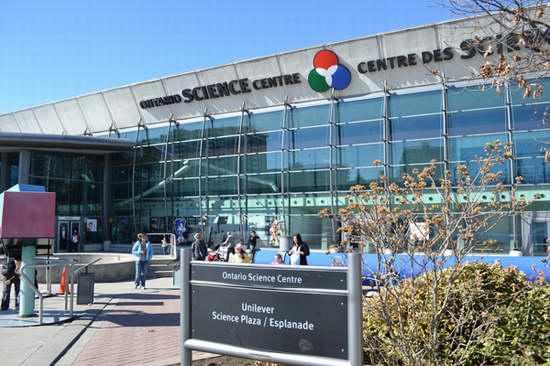 Ontario Science Centre安省科技馆年票8.5折!两家分享家庭票更划算!