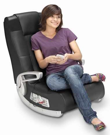 X Rocker 5143601 II 无线音箱 视频游戏椅/家庭影院躺椅6.4折 172.26加元包邮!