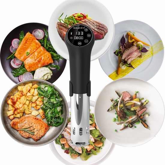 历史新低!Instant Pot Accu SV800 智能低温慢煮机5.4折 97.99加元包邮!