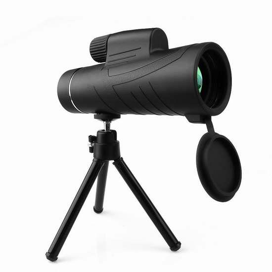 历史新低!ARCHEER 10X42 手持式单筒望远镜 12.99加元!