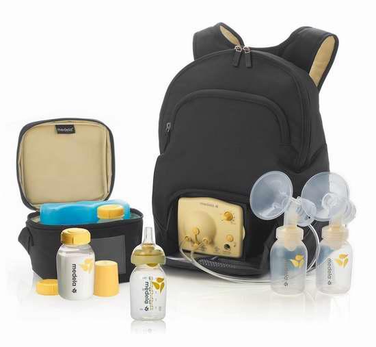 历史新低!Medela Pump In Style 随行背包款 双边电动吸奶器豪华套装 270.93加元包邮!
