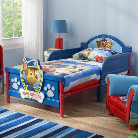 历史新低!Nick Jr. 3D 狗狗巡逻队 卡通儿童床5折 63.97加元包邮!