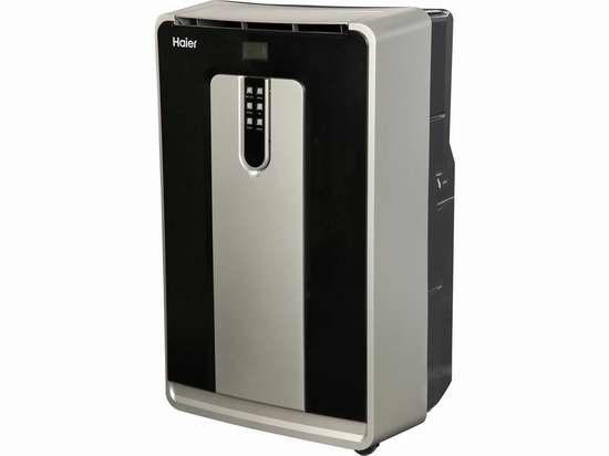 翻新 Haier 海尔 HPN10XCM 10,000 BTU 制冷加热除湿 三合一 便携移动式空调机2.1折 104.99加元清仓!