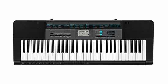 史低价上再降39加元!Casio 卡西欧 CTK2550 电子琴 90.99加元包邮!