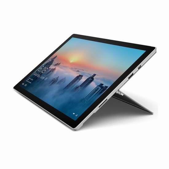 历史新低!Microsoft 微软 Surface FML-00001 Pro 4 Core M(128GB/4GB)12.3英寸平板笔记本电脑 799.99加元包邮!